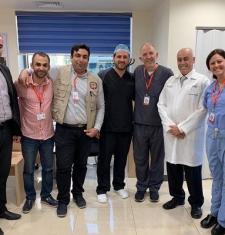 استقبال مستشفى الشرق الأوسط للعيون الجمعية الطبية السورية الأمريكية ( SAMS) خلال الفترة من 2019/07/06 ولغاية 2019/07/10