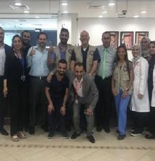 حملة لفحص وعلاج مرضى الجمعية الطبية السورية الأمريكية (SAMS)بتاريخ 20-21 نيسان 2019