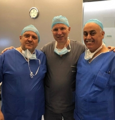 Dr. Musa conducted eyes operations in a PRIMA VISTA EYE CLINIC Hospital in Rome (Italy) on Thursday 28/3/2019